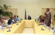 Rencontre citoyenne entre le Président de la République et un groupe de syndicats de transport en commun