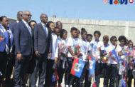 Haïti/Football: Le Président Jovenel Moïse accueille les étoiles des moins de 20 ans