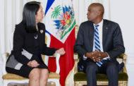Le Président Jovenel Moïse reçoit les lettres de créance des ambassadeurs des États-Unis et du Guatemala