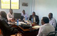 Rencontre de Travail entre le Ministre des Sports et le Président de la Fédération Haïtienne de Football.