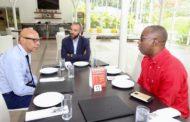 Ho Tin Noe JEAN CLAUDE, directeur régional de Guyane 1ère est en Haiti