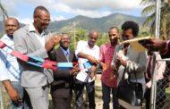 Le Chef de l'Etat Jovenel Moise inaugure une centrale électrique à Tiburon