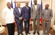 Le Président Jovenel Moïse rencontre des acteurs politiques autour de la crise