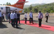 Le Chef de l'Etat Jovenel Moïse inaugure l'aéroport de Jérémie