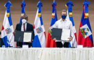 Le ministre des affaires étrangères S.E Claude JOSEPH a été reçu par son Homologue de la République Dominicaine S.E Roberto ALVAREZ au siège du ministère des affaires étrangères Dominicaines.