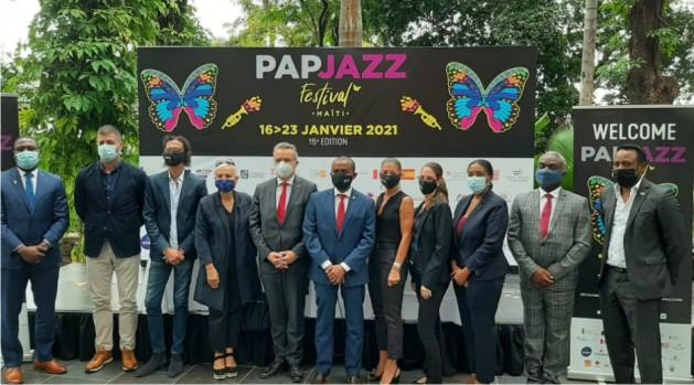 Lancement de la 15eme Edition du Festival de Jazz de Port-au-Prince